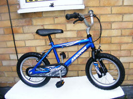 "BOYS ROCK JUMPER BIKE 14"" WHEEL AGE 4-6"