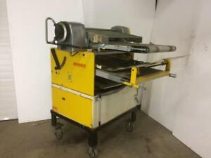 Rondo Reversible Sheeter - Used Dough Sheeter for Bakery