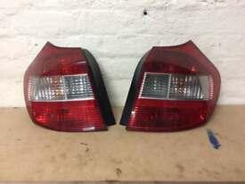 BMW 1 SERIES REAR LIGHR 2004-2011 , BMW E81 E87 BACK LIGHTS