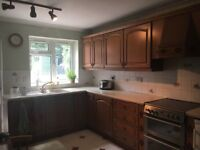 Kitchen Units, worktops & free dishwasher
