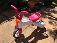 Chillafish Bunzi Balance Bike (Pink)