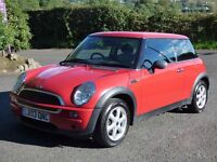 Good condition 2003 Mini 1.6 One, trade in considered, credit and debit cards accepted