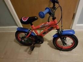10inch spiderman bike
