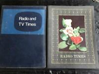 TV TIMES/RADIO TIMES COVERS WITH MAGAZINE