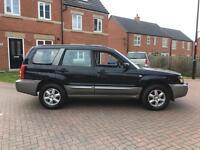2005 55 SUBARU FORESTER 2.0 AUTO X ALL WEATHER 4x4 BLACK 4WD AUTOMATIC