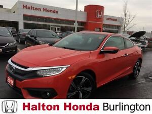 2016 Honda Civic Coupe Touring | ALLOYS | LEATHER | SUNROOF