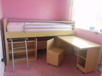 Dreams Hampshire kids cabin bed