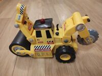 Big battery operated road roller