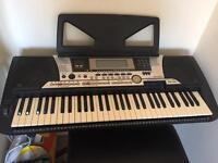 Yamaha PSR-550 Electronic Keyboard, Stand, Stool and Foot Switch