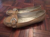 Ladies flat shoes, jellies, size 7
