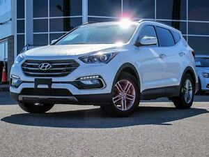2017 Hyundai Santa Fe Sport AWD|Heated Leather Interior|