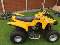 Quad bike all round good condition many extras see on full listing