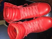 Men's red boots