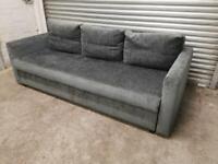 FREE DELIVERY IKEA FRIHETEN DARK GREY 3 SEAT SOFA BED GOOD CONDITION