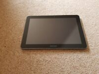 Samsung Galaxy Tab 10.1inch 16GB tablet (GT-P7510) Black with Samsung black hard cover case