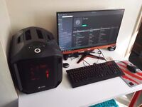High Spec Gaming PC complete with 1440p 144hz monitor, gaming mouse and mechanical keyboard