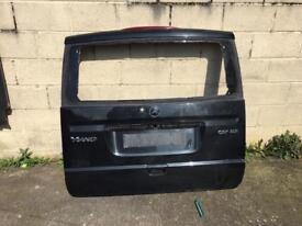 Mercedes Vito tailgate boot lid