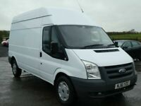 043458fede 2011 Ford transit 2.4 diesel 125 bhp lwb high roof psvd april 2020 no vat  all