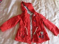 Girls light jacket from Next, size 2-3 yrs