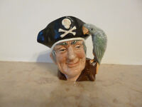 Toby Jug - Long John Silver - great gift