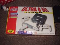ULTRA 8 BIT GAMING SYSTEM 84 GAMES ALL BOXED