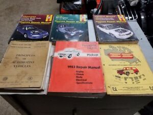 Mechanic books