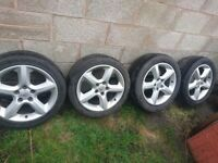 MK5 ASTRA SRI ALLOY WHEELS 17""