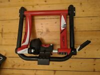 Elite Bike Home Trainer, with mat and front wheel stand
