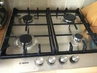 Bosch Gas Hob -Stainless steel.Excellent condition.