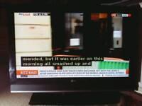 LG 37 inch LCD TV set 2x HDMI Digital FreeView DVB HD ready PC telly television