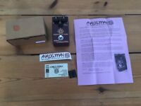 Prince of Tone overdrive pedal by Analogman, excellent condition, all packaging included.
