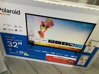 """Polaroid 32"""" full smart tv brand new"""