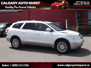 2011 Buick Enclave CXL 4WD/B.CAM/3RD ROW/LEATHER/ROOF