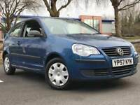 2007 VOLKSWAGEN VW POLO 1.2 * 3 DOOR * IDEAL FIRST CAR * LONG MOT * WARRANTY * DELIVERY * PX