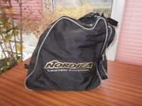 Nordica 758 Ski Boots and Bag