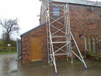 boss youngman evolution narrow scaffold tower