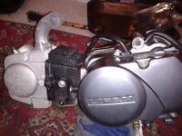 lifelan 125cc engine will fit (honda c90)