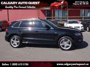 2011 Audi Q5 3.2 Premium Plus S-line AWD/NAVI/B.CAM/LEATHER