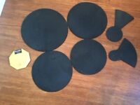 Wokingham Drum Sales - Set of Drum / Cymbal Silencers - Christmas Gift For The Neighbours !!!