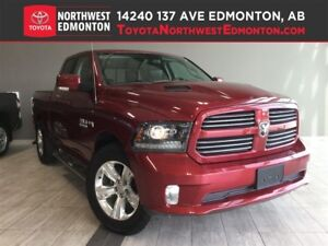 2015 Ram 1500 Sport | H/C Leather Seat | Back Up Cam | Pwr Pedal