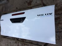 Genuine Toyota Hilux 4x4 Tailgate (Boot Lid) Just off a Brand New model
