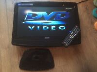 """Bush 19"""" HD TV With Built In DVD Player In VGC!"""