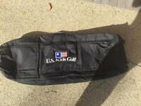 Kids golf Travel bag for sale, used once For Sale