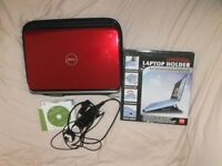 DELL Red Inspiron N5010 Laptop/Notebook + Bundle - Used