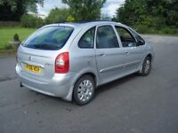 2006 CITROEN PICASSO 1.6 HDI EXCLUSIVE DIESEL LONG MOT FSH REPLACEMENT TIMING BELT LOVELY EXAMPLE