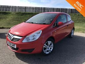 2008 VAUXHALL CORSA ACTIVE 1.2 16V - 61K MILES - 5 STAR SAFETY RATING - 3 MONTHS WARRANTY