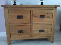 Excellent condition solid oak cabinet. Buyer to collect. Was £275 new still have receipt
