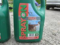 Barrettine Fence Treatment- 2 x 5Litre bottles- Dark Brown