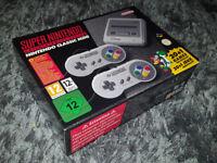 SNES MINI CLASSIC Super Nes Nintendo New Sealed