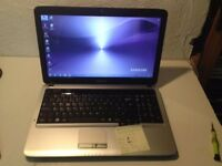 Perfect and 6gb ram Samsung dual core 2.1 laptop /brand new battery /office 2013